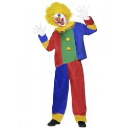 Disfraz de Payaso Multicolor Infantil