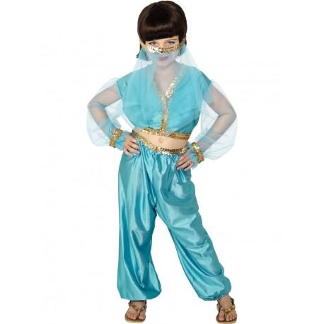Disfraz De Princesa Árabe Infantil