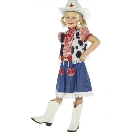Disfraz De Vaquera Encantadora Infantil