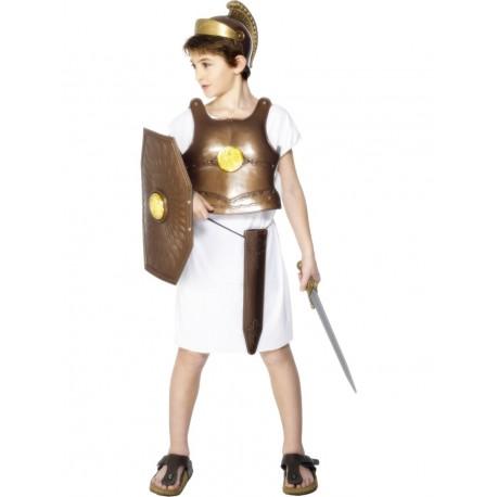 Disfraz de Soldado Griego con Armadura Infantil