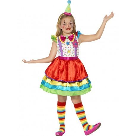 Disfraz De Payasa Deluxe Infantil