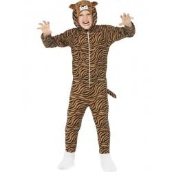 Disfraz de Tigre Marrón Infantil