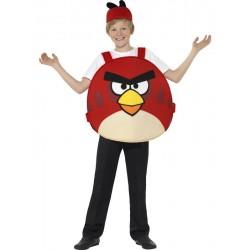 Disfraz de Angry Bird Rojo (Oficial)