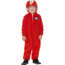 Disfraz infantil de Elmo de Barrio Sésamo (Oficial)