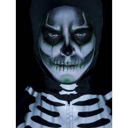 Kit De Maquillaje De Esqueleto Brillante En La Oscuridad