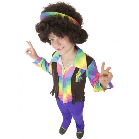 Disfraz de Chico Hippie Aroma