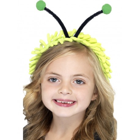 Diadema Infantil Con Antenas De Mariquita