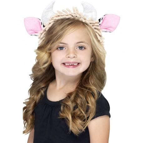 Diadema Infantil Con Orejas De Vaca