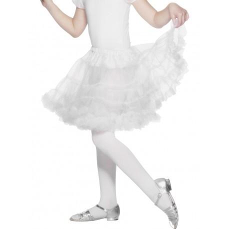 Enagua Blanca Infantil