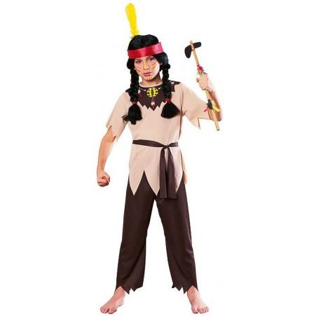Disfraz De Indio Nativo Americano Nino O Nina - Disfraz-india-americana