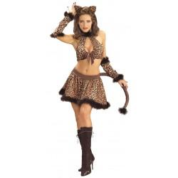 Disfraz de Gata Leoparda Lasciva
