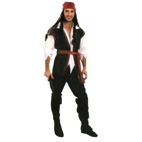 Disfraz de Pirata Feroz Hombre