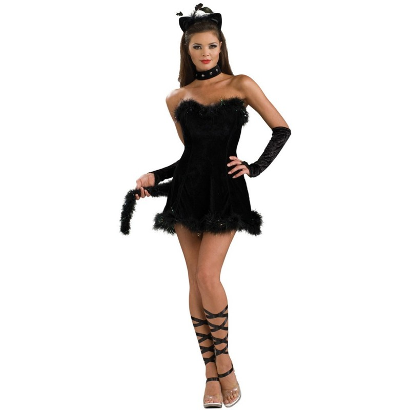disfraces de halloween gatita