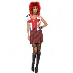Disfraz de Anarchista Punk Mujer