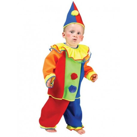 Disfraz de Payaso Arlequín Infantil