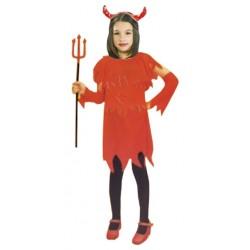 Disfraz de Demonio Niña