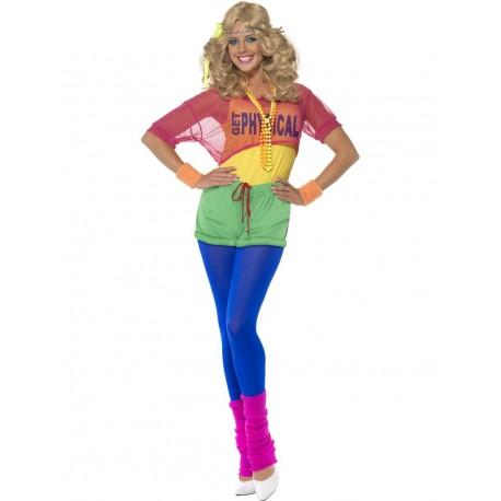 Disfraz de Chica Aerobic de los 80's