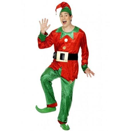 Disfraz de Elfo de Papá Noel