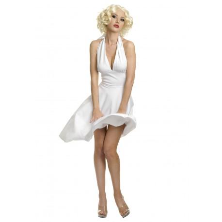 Disfraz de Estrella de Hollywood Sexy, Estilo Marilyn Monroe