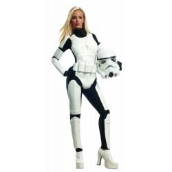Disfraz de Stormtrooper para Mujer (Oficial)