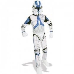 Disfraz de Clone Trooper Legión 501 Star Wars para Adulto (Oficial)
