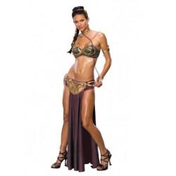 Disfraz de Princesa Leia Esclava Sexy (Oficial)