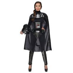 Disfraz de Darth Vader Star Wars para Mujer (Oficial)