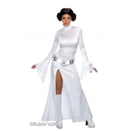 Disfraz de Princesa Leia Blanca Sexy
