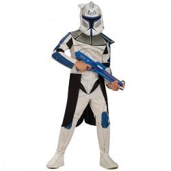 Disfraz de Clone Trooper Rex deluxe para Niño en Caja (Oficial)