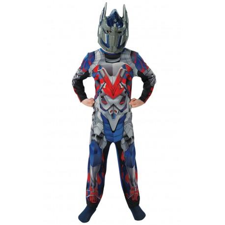 Disfraz de Optimus Prime Movie Transformers 4 La Era de la Extinción Classic para Niño (Oficial)