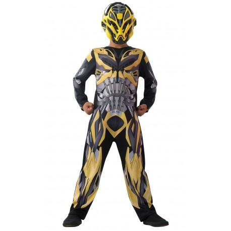 Disfraz de Bumblebee Movie Transformers 4 La Era de la Extinción Classic para Niño (Oficial)
