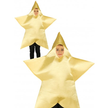 Disfraz de Estrella de Navidad Infantil
