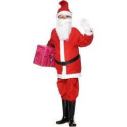 Disfraz de papá Noel Económico Infantil
