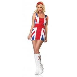 Vestido de la Bandera Británica (Disfraz de Spice Girls)