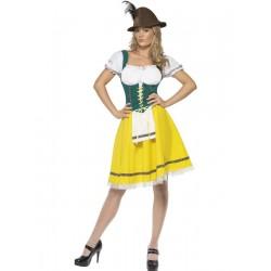 Disfraz de mujer Bávara para el Oktoberfest