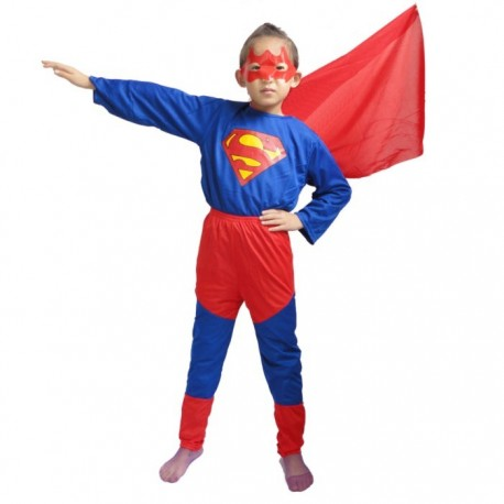 Superhéroe Infantil Superboy Niño 4-6 años
