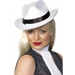 Sombrero de Gangster Blanco