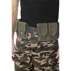 Cinturón Del Ejército Con Bolsillos