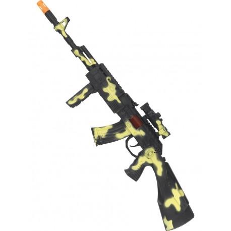 Escopeta Militar De Comando 59cm