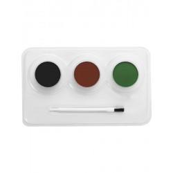 Kit de Maquillaje de Base Agua para Camuflaje
