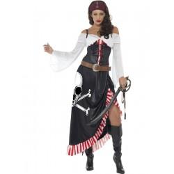 Disfraz de Pirata Espadachina Sensual