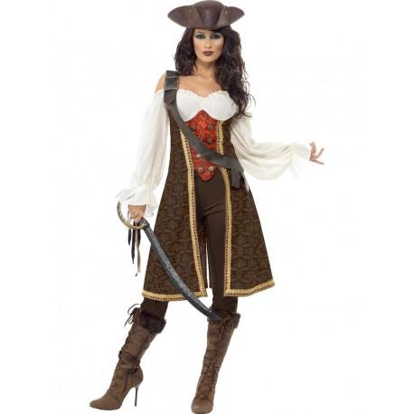 Disfraz de Pirata de Alta Mar Descocada