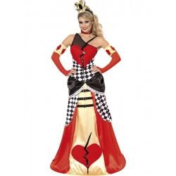 Disfraz de Reina de Corazones Rotos