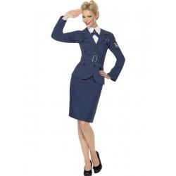 Disfraz de Mujer Piloto de Fuerzas Aéreas