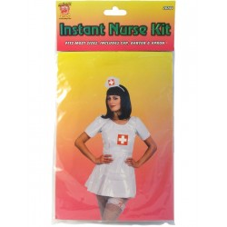 Kit Instantáneo de Disfraz de Enfermera