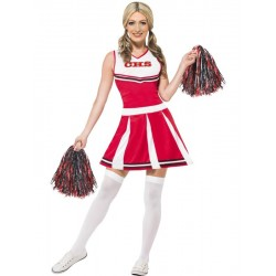 Disfraz de Cheerleader - Animadora Americana