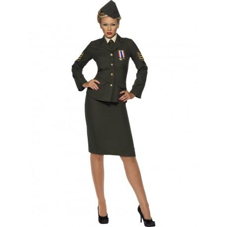 Disfraz de Mujer Oficial del Ejército