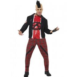 Disfraz De Anarquista Punk