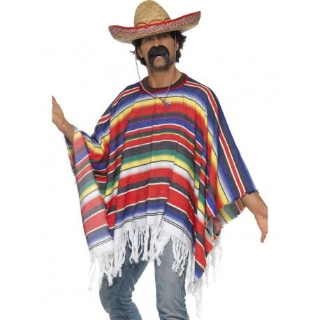 Disfraz De Mejicano (Poncho)