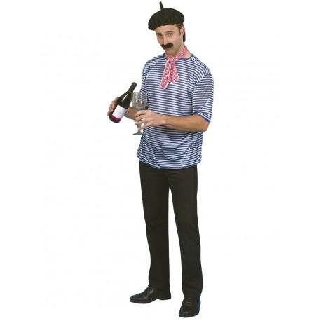 Disfraz De Hombre Francés